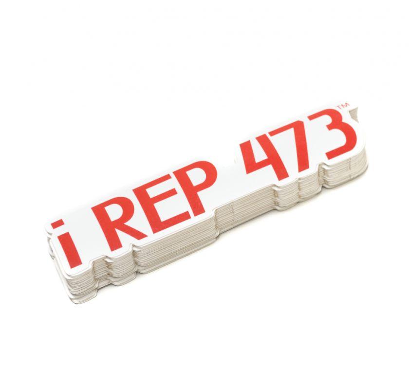 iRep473 Sticker